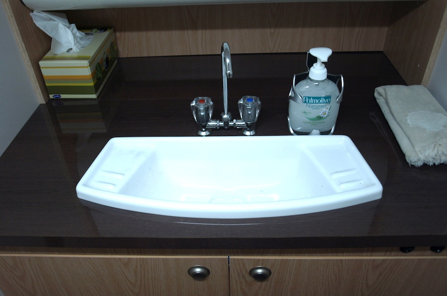 Bathroom on board